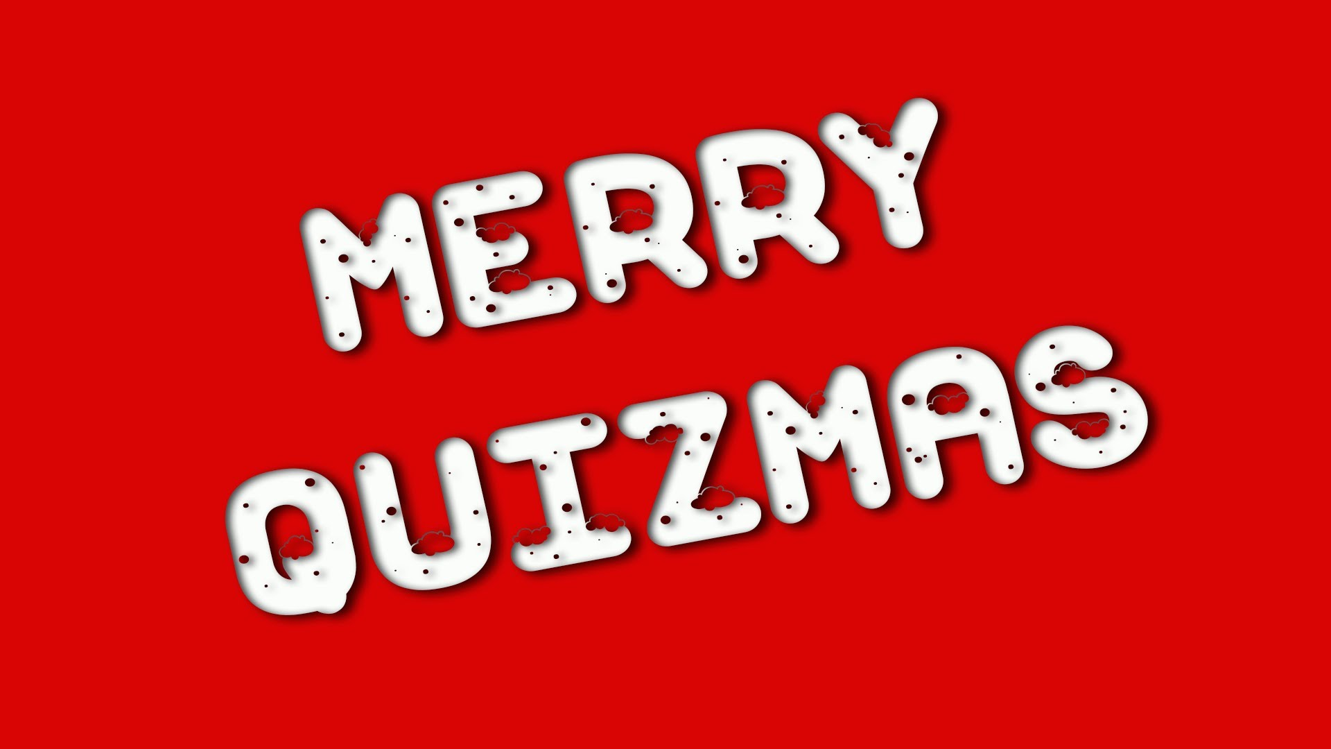 Merry Quizmas one and all!!